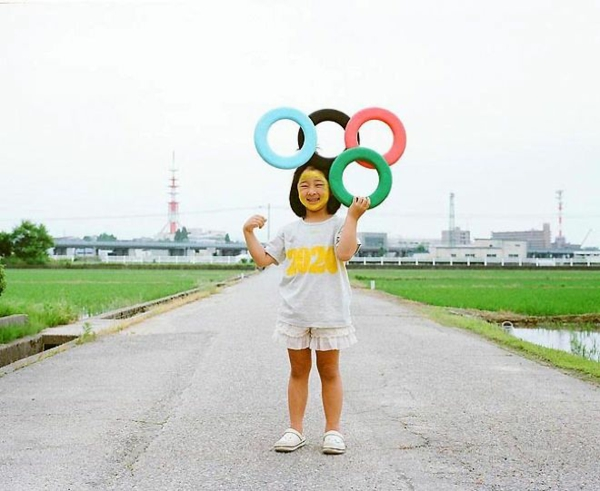 Nagano Toyokazu tochter lustige kinderfotos olympische spiele