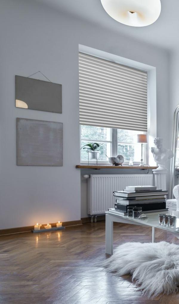 plissee rollo wohnzimmer raum und m beldesign inspiration. Black Bedroom Furniture Sets. Home Design Ideas