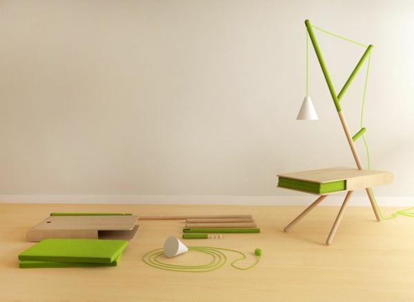 RE LIGHT beistelltisch bestandteile Presek Design Studio