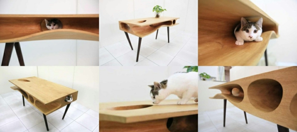 Ruan Hao CATable designer esstische für katzen designer tisch