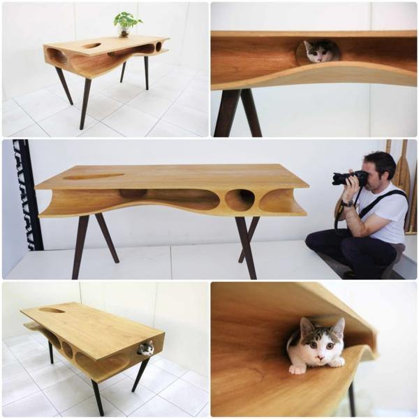 Ruan Hao CATable designer esstische für katzen