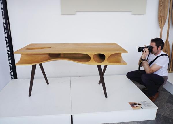Holztisch Design Esstisch CATable   Ein Designer Tisch Für Menschen Und  Katzen