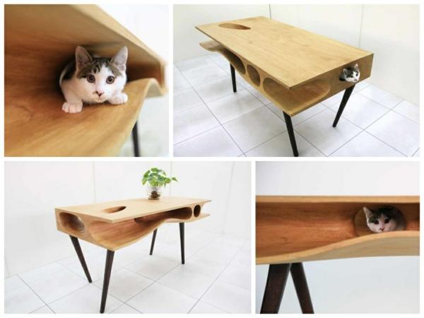 Ruan Hao CATable designer esstische katzentisch