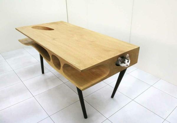 Ruan Hao CATable designer esstische menschen und katzen