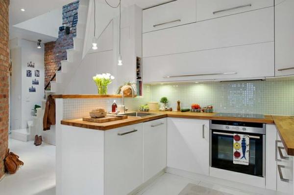 skandinavisches küchen design sorgt für gemütlichkeit – churchwork, Kuchen