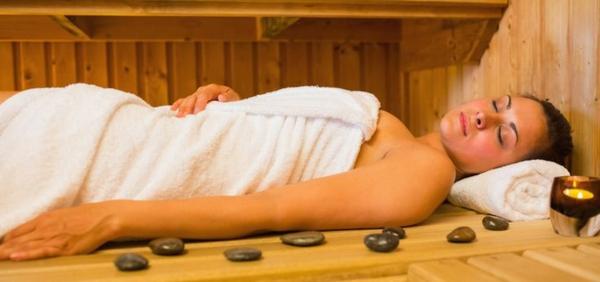 Sport und Sauna gesund entspannen