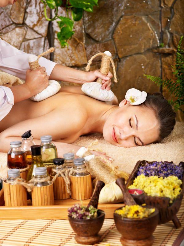 Sport und Sauna gesund massage