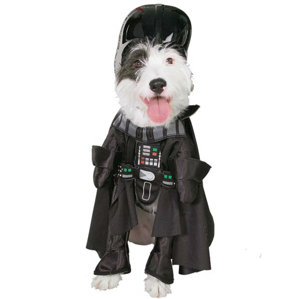 Star Wars Kostüme Hunde Darth Vader