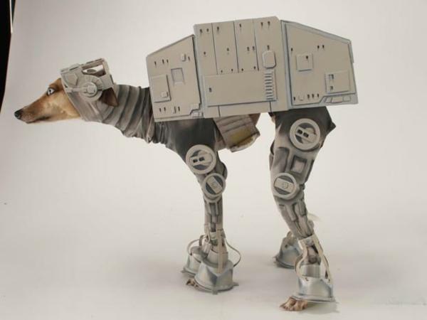 Kostüme für Hunde mechanik Star Wars