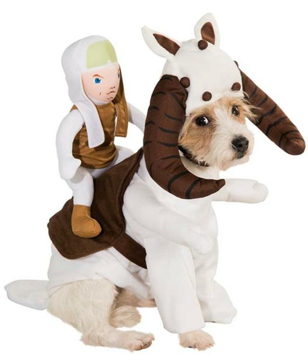 Kostüme für Hunde reiter Star Wars
