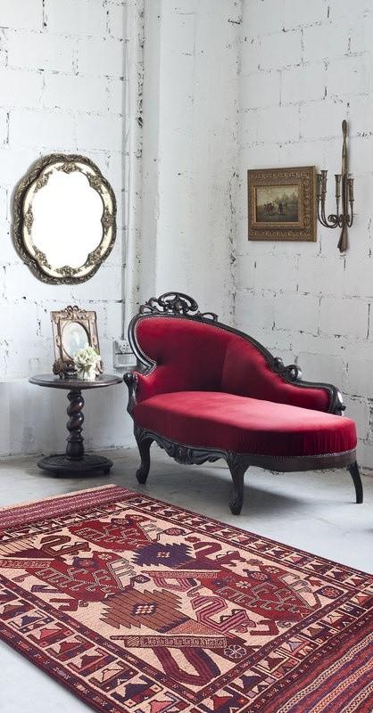 Trendfarbe Marsala inneneinrichtung wohnstil liege
