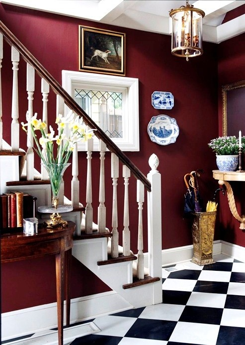 Trendfarbe inneneinrichtung wohnstil treppe
