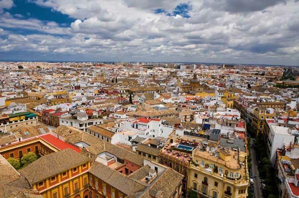 Urlaub Südspanien Sevilla stadtansicht