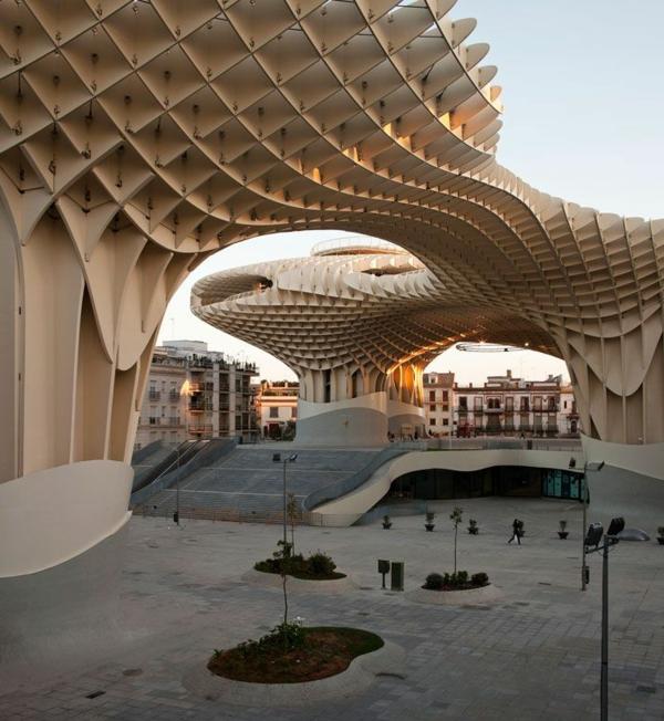 Urlaub Südspanien sevilla Metropol Parasol größtes holzgebäude der welt