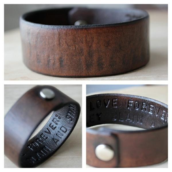 Geschenke Männer armband leder Valentinstag