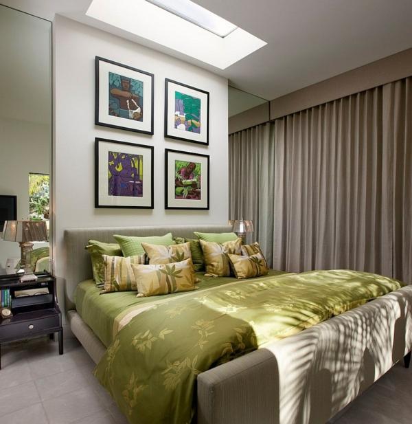 Velux Dachfenster schlafzimmer Dachflächenfenster gemütlich