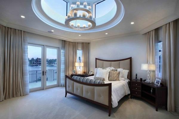Dachfenster schlafzimmer Dachflächenfenster polstermöbel