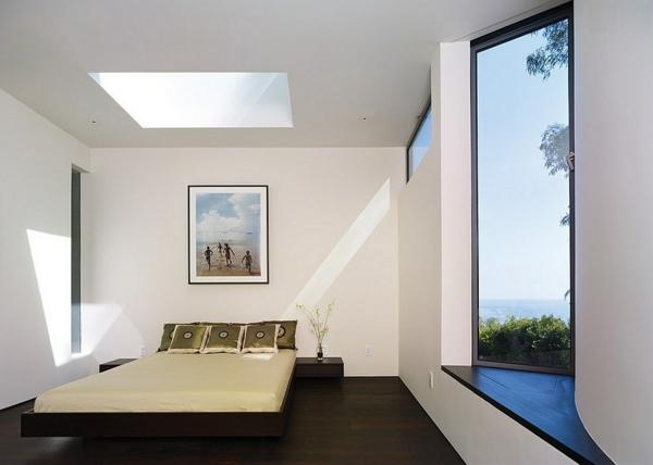 Velux Dachfenster schlafzimmer Dachflächenfenster visuell effekt