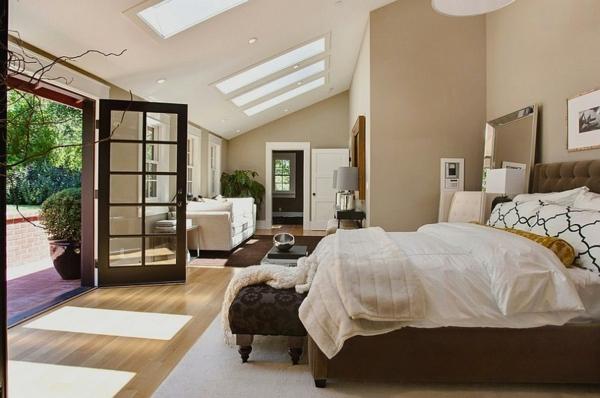 Dachfenster schlafzimmer velux fenster einbauen zen stil