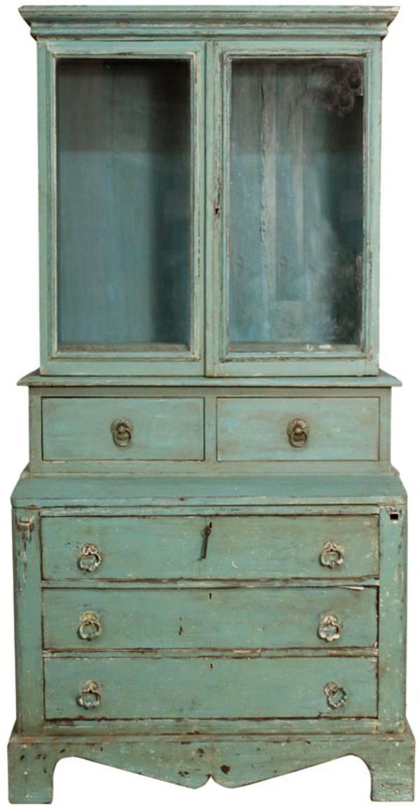 vintage look m bel holzschrank retro design. Black Bedroom Furniture Sets. Home Design Ideas