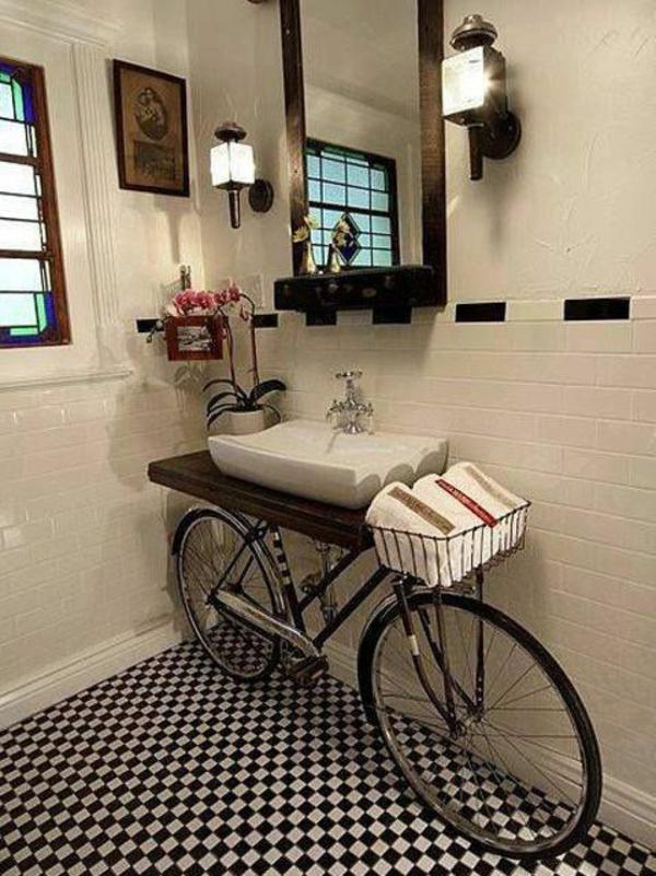 Vintage Look Möbel selber machen badezimmer unterschrank