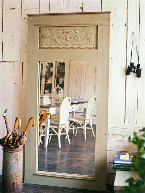 vintage wohnzimmertisch:Wohnzimmertisch aus einer alten Tür machen und neu streichen