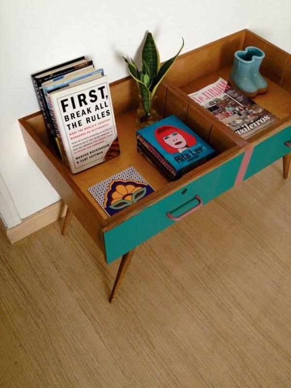 Vintage Look Möbel als Akzent in Ihrer modernen Wohnung -> Vintage Möbel Used Look