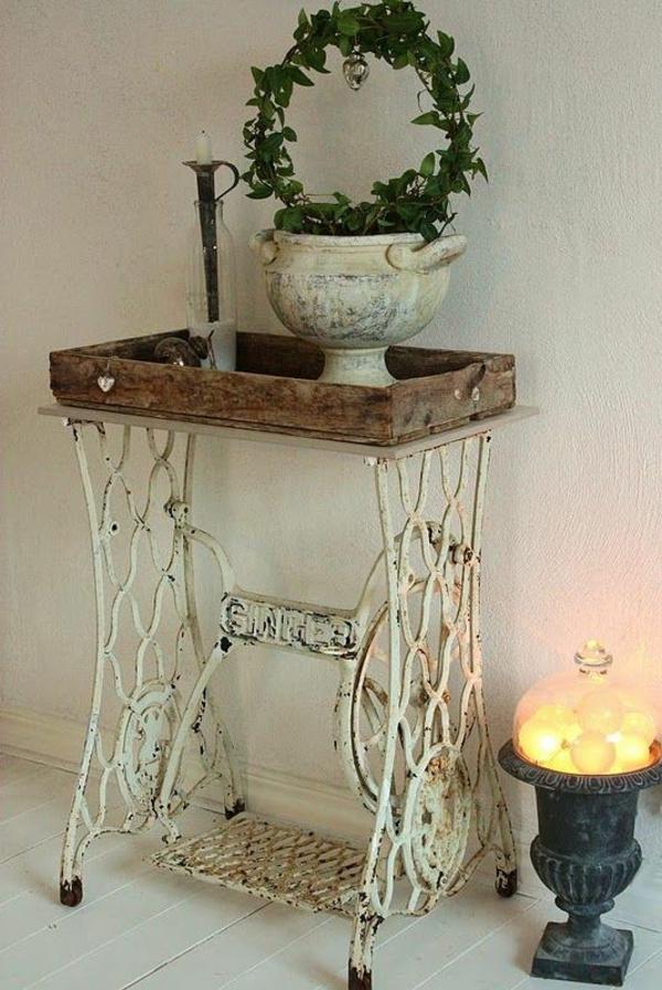 Vintage Look Möbel als Akzent in Ihrer modernen Wohnung # Vintage Möbel Used Look