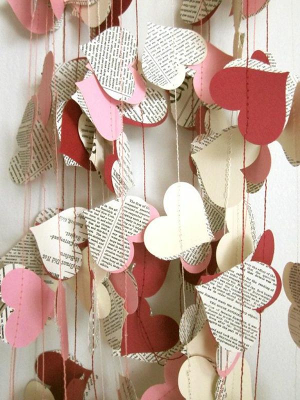 Woher Kommt Der Valentinstag Diy Deko Herzen Girlanden