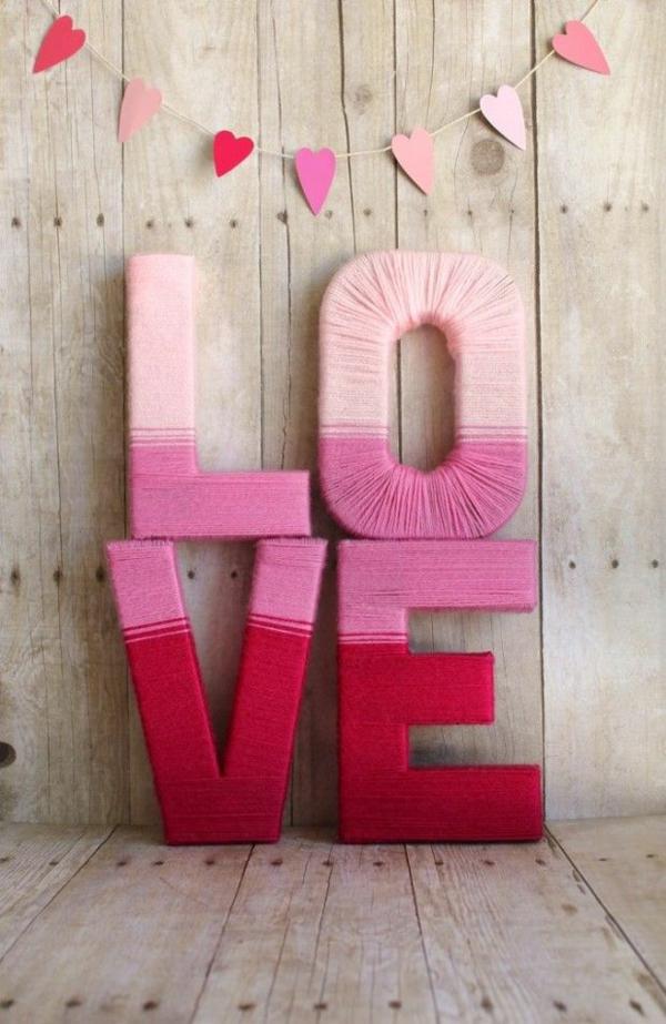 Woher Kommt Der Valentinstag Diy Deko Love Schrift