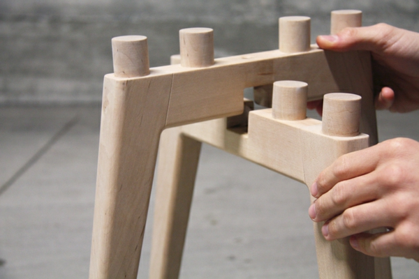 Design hocker holz  Designer Stühle zum Bewundern - so einfach und beeindruckend