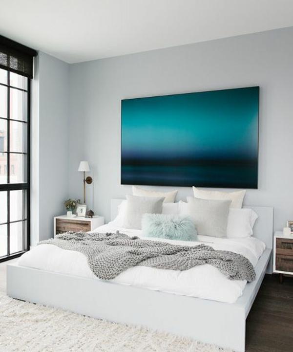 Zeitgenössische art kunst Malerei schlafzimmer meer