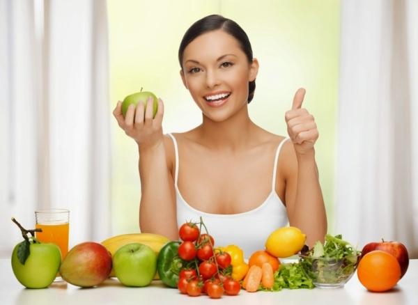 abnehmen mit genuss gemüse früchte