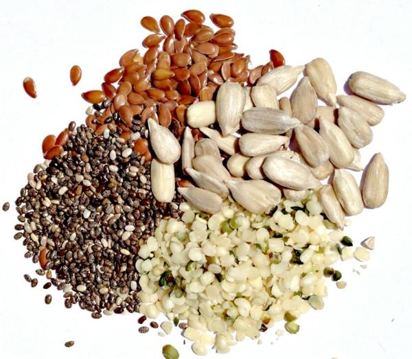 abnehmen mit genuss kalorienarm nüsse samen