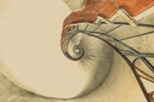alte treppen spirale gusseisen