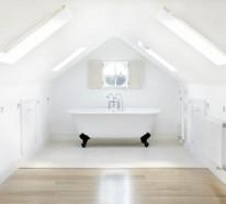 Besonderheiten der Badgestaltung für kleines Bad im Dachgeschoss