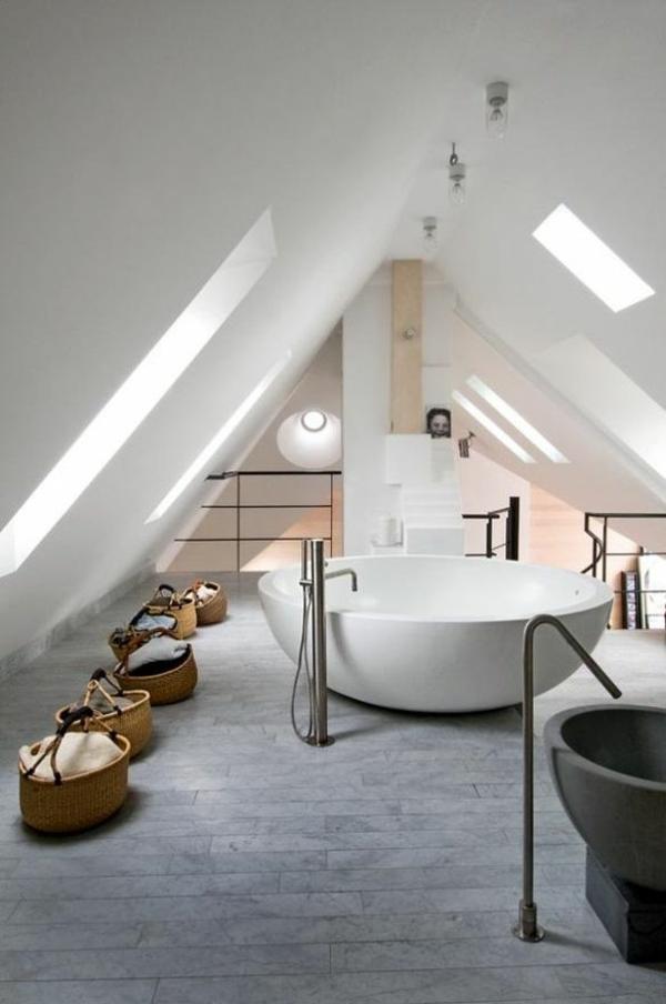 Besonderheiten der badgestaltung f r kleines bad im dachgeschoss - Mezzanine verlichting ...
