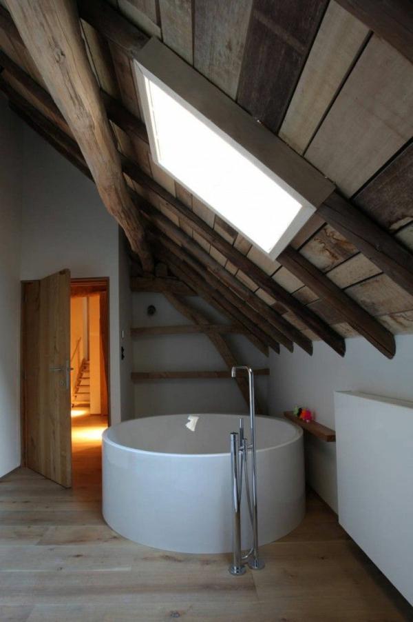 badgestaltung kleines bad rund badewanne