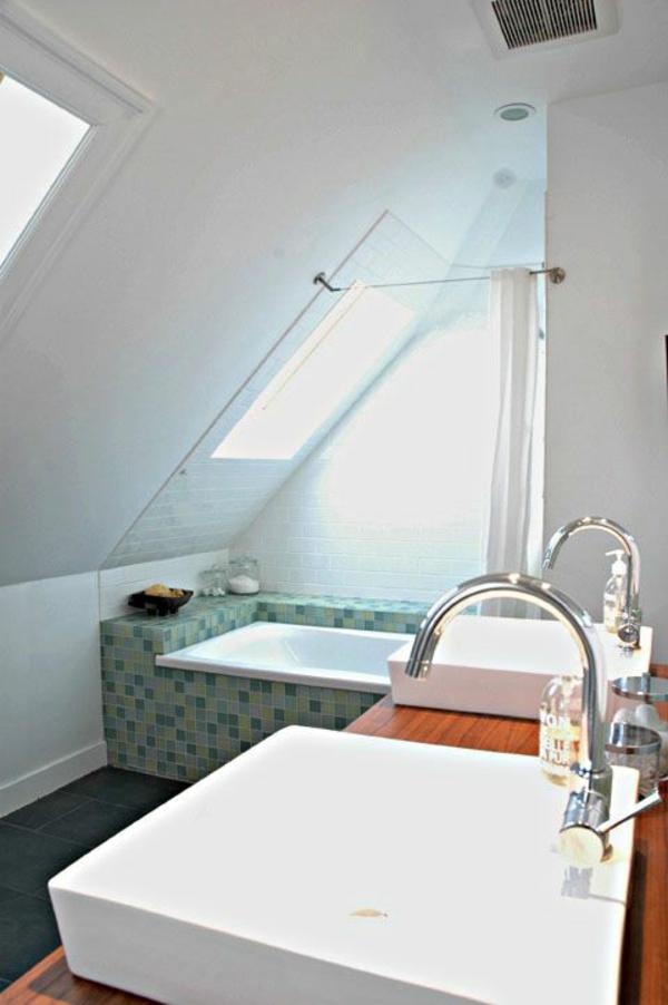 badezimmer gestaltung kleines bad waschbecken badewanne