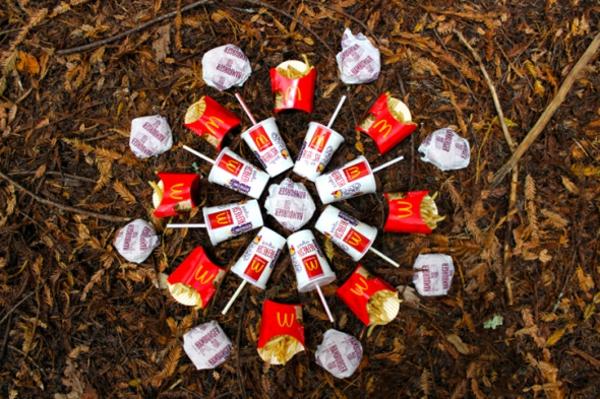 burgers mandala mc donald burger Brittany Powell Tae Kitakata