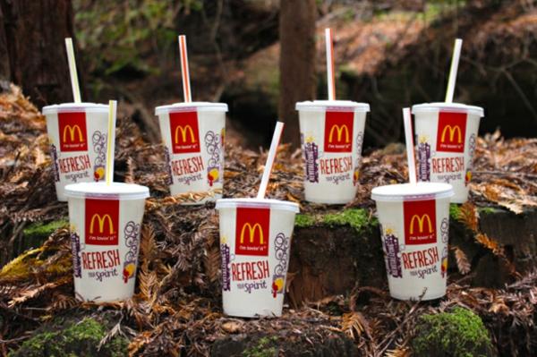 burgers pop cups mc donalds burger Brittany Powell Tae Kitakata