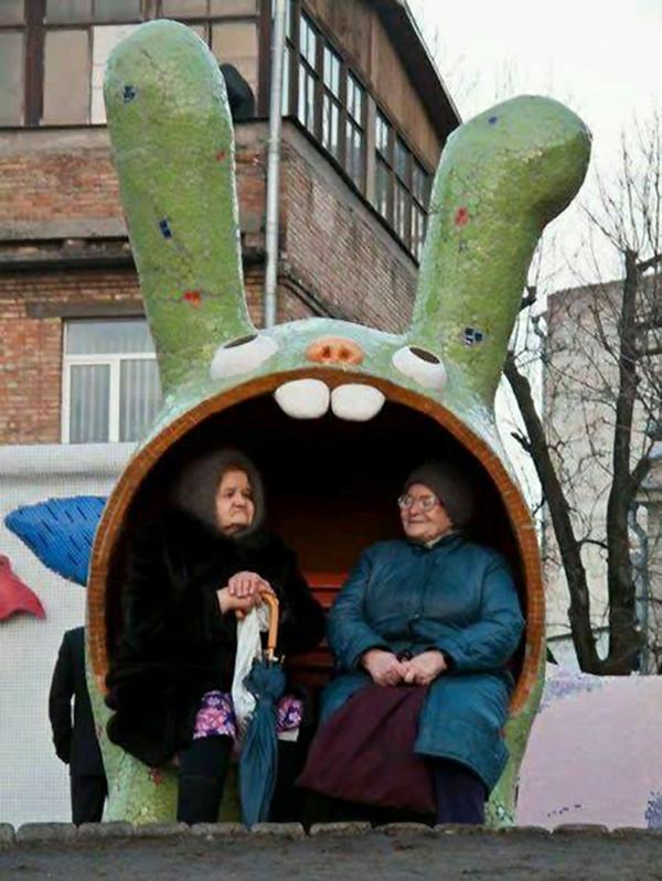 bushaltestelle haltestelle hase russland