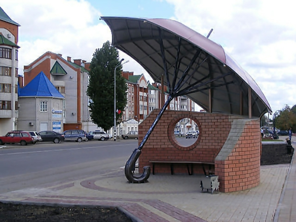 bushaltestellen regenschirm bushaltestelle