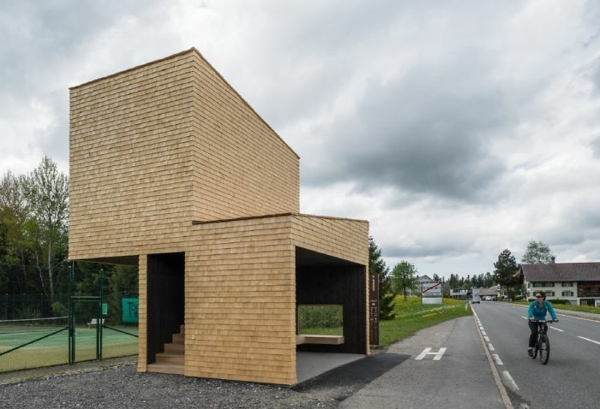 bushaltestellen rintala eggertsson architects krumbach österreich