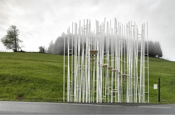 bushaltestellen sou fujimoto bushaltestelle krumbach österreich