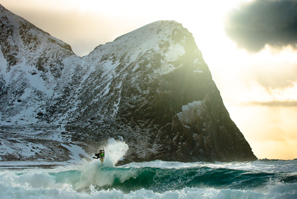 chris burkard inszenierte fotografie surfer meer