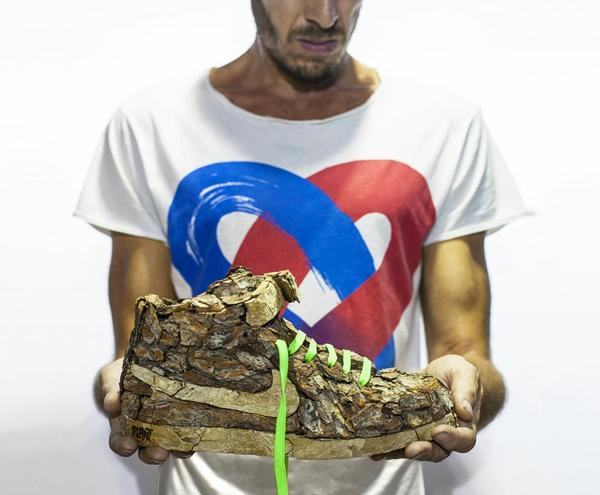 christophe guinet und seine nike sneakers aus pflanzen