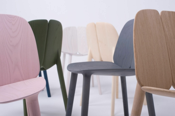 contemporary stuhl holz ronan erwan