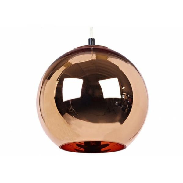 copper runde pendelleuchte designer tom dixon