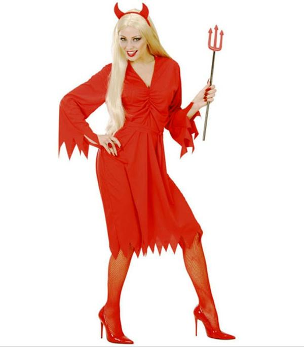 damenkostüme karneva faschingskostüme rote teufelin